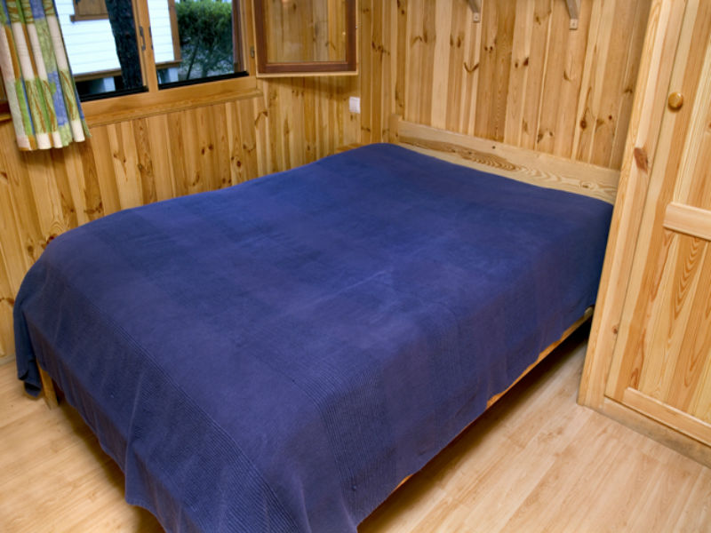 Bungalow 5 p. - double bed